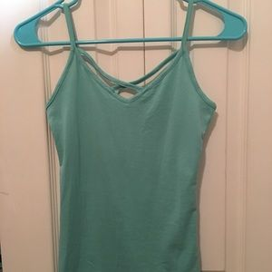 Rue 21 teal tank top Size XS